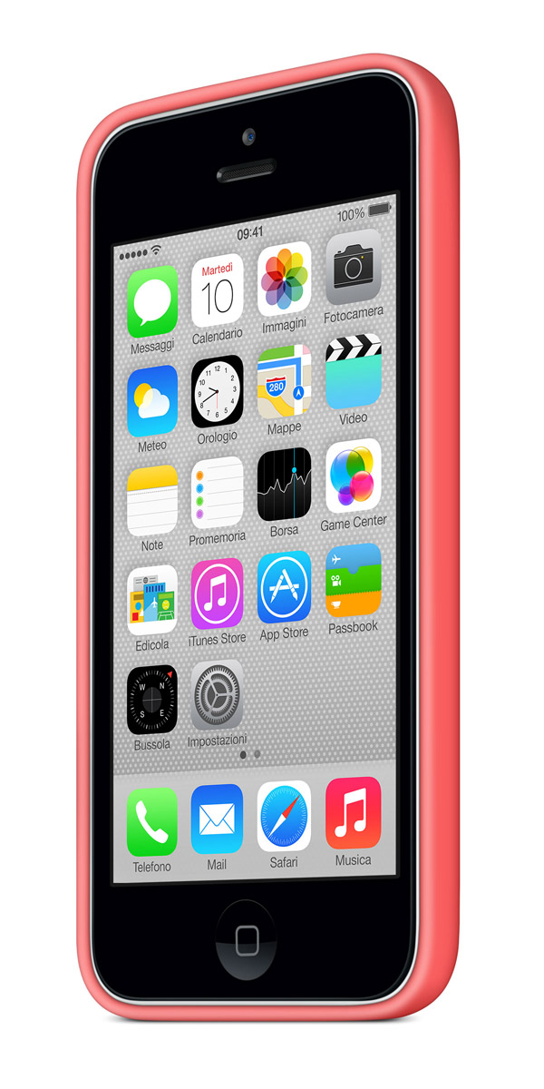 cases gallery threequarterfront white pink [Galleria] Apple presenta il nuovo iPhone 5c, diamo uno sguardo al nuovo stile colorato made in Cupertino
