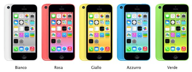 colori iphone 5 c 620x234 [Specifiche] Diamo uno sguardo alle specifiche tecniche del nuovo iPhone 5c presentato oggi da Apple