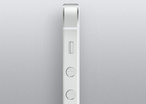 iphone 5 s lato 620x440 [Galleria] Ecco il nuovo iPhone 5s, guardiamo da vicino il gioiellino presentato da Apple