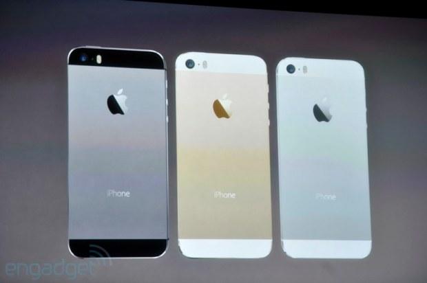 iphone2013 0140 620x412 Le prime immagini del nuovo iPhone 5s, in diretta dallevento di Cupertino di oggi