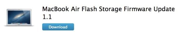 Flash Storage Firmware Update 1.1