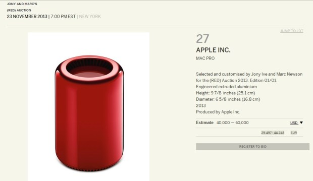Mac Pro Red Edition 620x359 Una speciale versione del Mac Pro (RED) per combattere lAIDS
