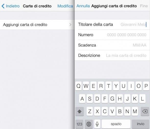 Portachiavi iCloud Carte Di Credito Password al sicuro e sincronizzate con il Portachiavi iCloud: Ecco come funziona!