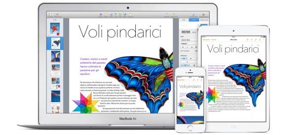 gallery icloud sync 620x274 Maveriks, iWork e iLife: Disponibili gratuitamente