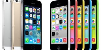 Tutta la gamma di iPhone 5c e 5s