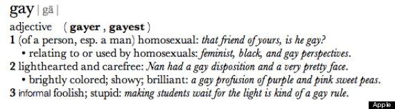 Apple Definizione Gay Apple e la definizione del dizionario omofoba: Lazienda risponde prontamente ad una ragazzina delusa