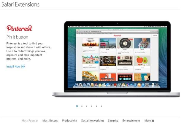 Estensioni Safari 620x415 Apple aggiorna il suo sito dedicato alle estensioni per Safari