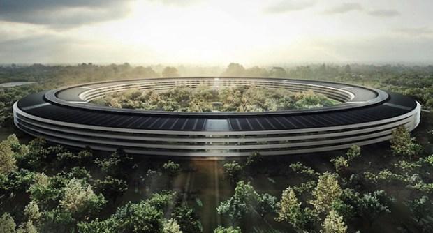 New Apple Campus 620x334 Apple pronta al trasloco nel suo nuovo campus futuristico
