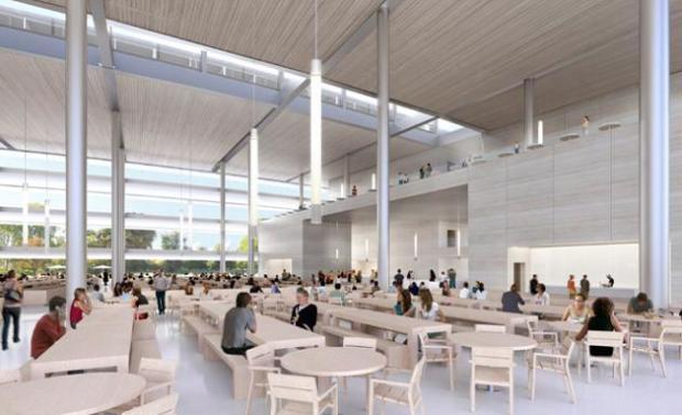 apple campus 620x378 Apple pronta al trasloco nel suo nuovo campus futuristico