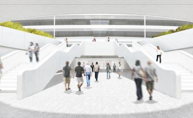 campus nuovo di apple 620x378 Apple pronta al trasloco nel suo nuovo campus futuristico