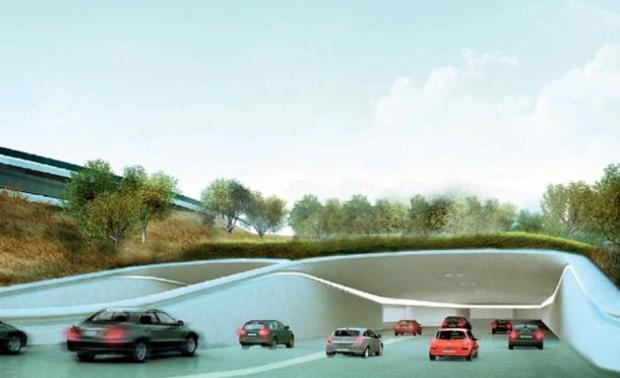 progetto campus apple 620x378 Apple pronta al trasloco nel suo nuovo campus futuristico