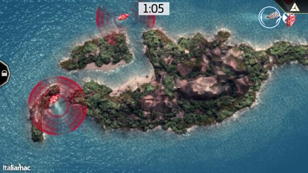Alcune missioni richiedono la mappa