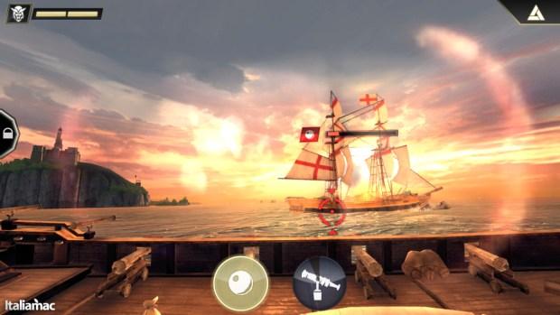 Fuoco sulla polveriera 620x349 Assassins Creed: Pirates, recensione e gameplay
