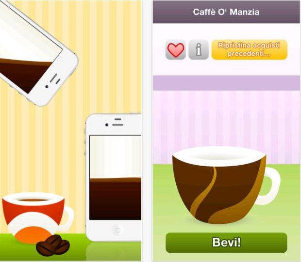 Oracolo del Caffe 2 620x541 Oracolo del Caffè sbarca su App Store