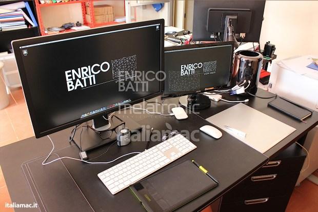 Apple MacPro Black Italiamac 014 620x413 Abbiamo provato il nuovo Mac Pro, il gioiello nero di Apple. Impressioni e galleria fotografica.