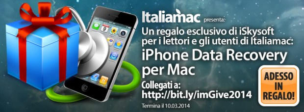CopertinaFacebookItaliamacRegalo2 620x228 Giveaway: Italiamac vi regala iPhone Data Recovery per Mac