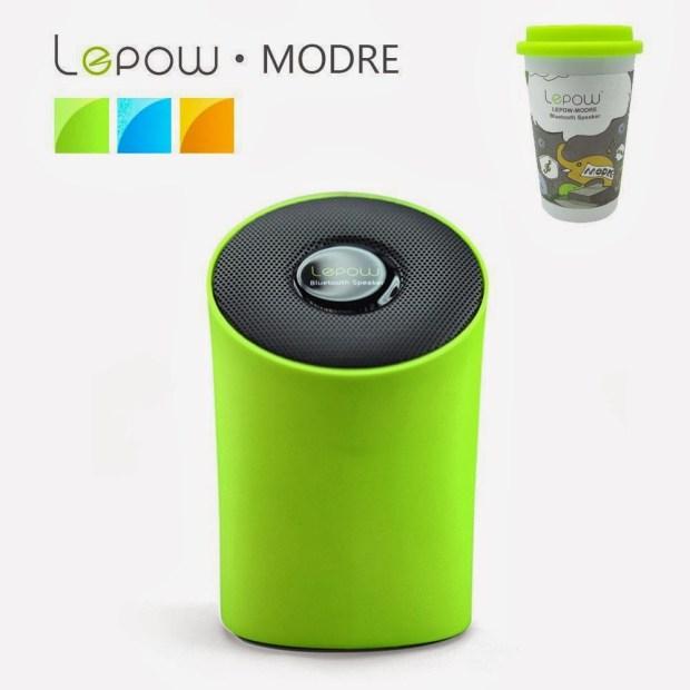 Cool Gadgets - Lepow  Modre , Portable Wireless Bluetooth Speaker