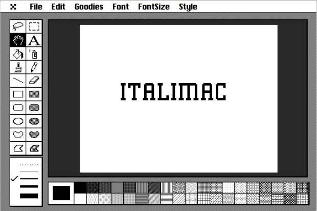 CouldPaint MacPaint 620x414 MacPaint è tornato, per i nostalgici del Mac