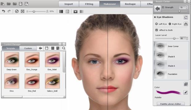 Eye Makeup Eye shadow2 620x356 FaceFilter 3: utile editor per migliorare le foto dei volti, anche con effetti