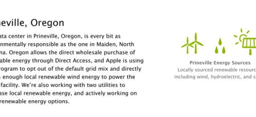 Schermata 2014 04 13 alle 13.24.42 620x241 Apple acquista una centrale idroelettrica per il Data Center dell'Oregon