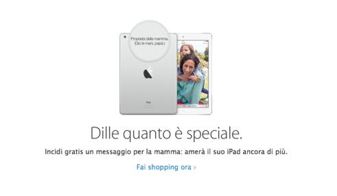 incisione apple 620x361 Apple Store: al via i prepeparativi per la festa della mamma