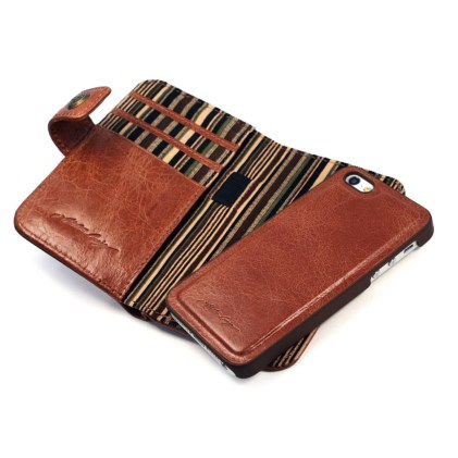 apple iphone 5s wallet case rf blocking alston craig vintage brown leather 4 620x620 I case di Alston Craig , la qualità prima di tutto.