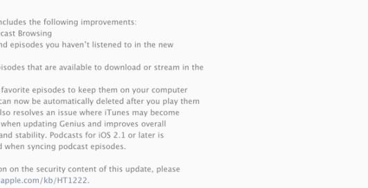itunes11.2.1 620x232 Apple rilascia iTunes 11.2.1 per risolvere un bug riscontrato sui Mac