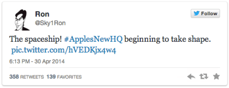 roncervi Apple: nel web spunta una nuovo foto del Campus 2.0