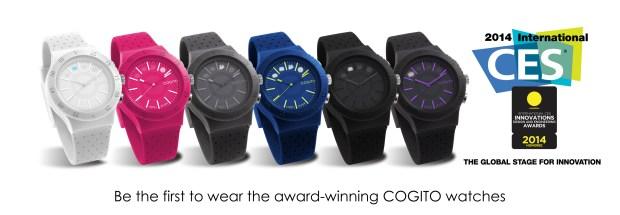 COGITO POP AwardWinning 620x215 Cogito Pop, lorologio smart presentato al Ces 2014