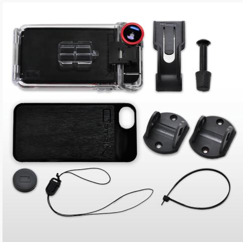 Schermata 2014 06 06 alle 10.07.25 Optrix XD5, il case che trasforma liPhone in una action cam