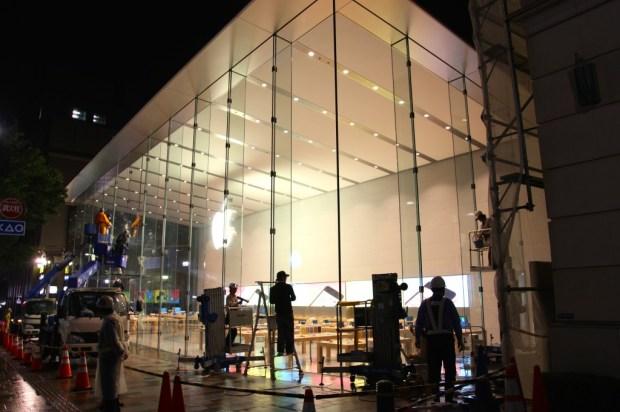 applestore 620x412 Il 13 giugno sarà inaugurato il nuovo Apple Store Giapponese