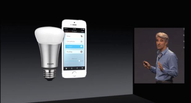 hue 620x334 LAzienda Philips pensa ad un widget di Hue Lights integrato nel centro notifiche di iOS 8