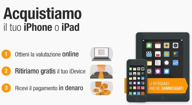 iphone usato home 620x341 BuyDifferent: supervalutazione degli iPhone e iPad danneggiati fino al 4 Luglio.