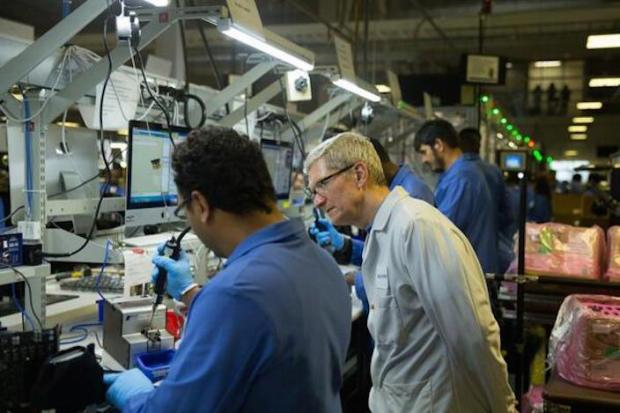 timcookmac 620x4131 Apple usa Windows nella catena di montaggio dei Mac ad Austin in Texas