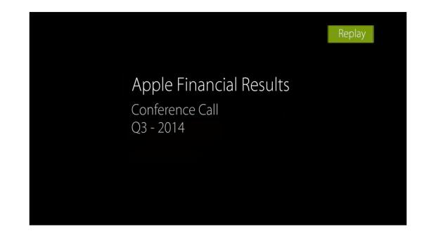 Schermata 2014 07 23 alle 15.12.22 620x346 La Call Conference di Apple dedicata ai risultati del terzo trimestre fiscale del 2014