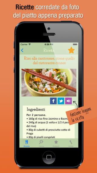 app31 Le ricette di Martina, tra le migliori App di cucina su App Store