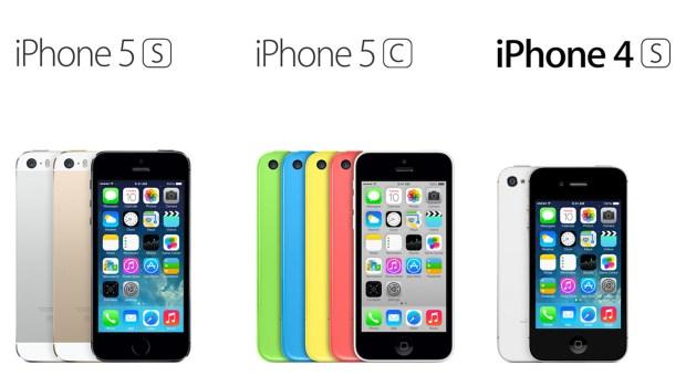 iphone 5s iphone 5c iphone 4s apple 620x349 LiPhone conserva il proprio valore nel tempo rispetto ad altri smartphone