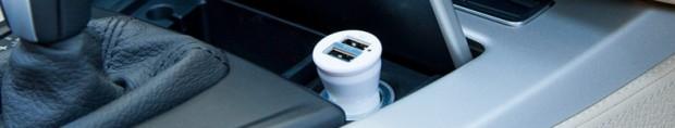 vavelierousb 620x118 VaVeliero: Double USB Car Charger, un caricatore universale con 2 porte USB