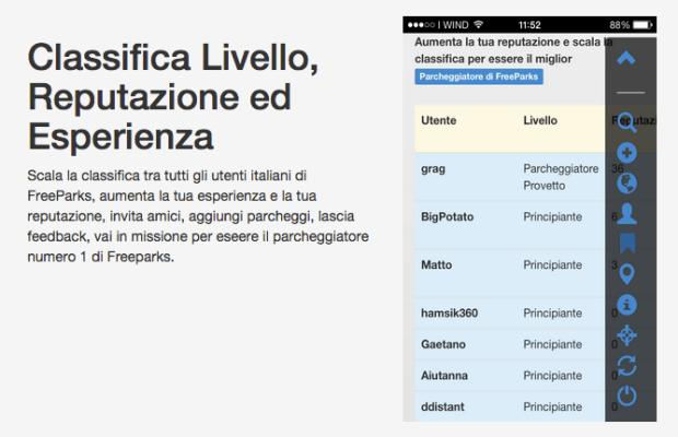 FreeParks5 620x400 FreeParks: una Web App italiana che trova i parcheggi gratuiti