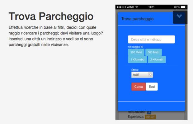 FreeParks9 620x399 FreeParks: una Web App italiana che trova i parcheggi gratuiti