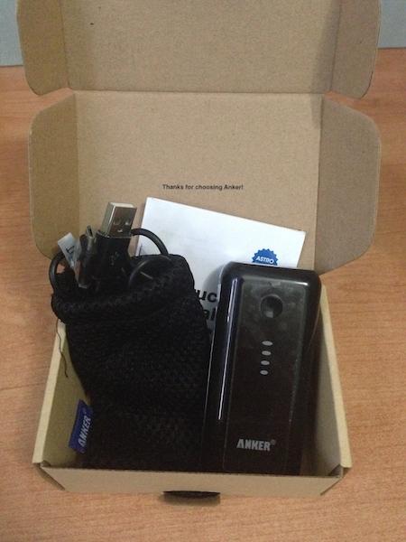 IMG 3204 Anker Astro: 5600 mAh in più per il nostro smartphone