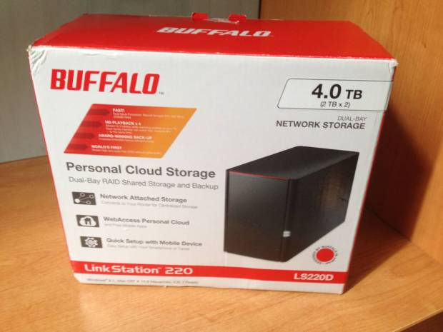 IMG 3249 620x465 LinkStation 220, Il NAS di Buffalo adatto anche ai meno esperti