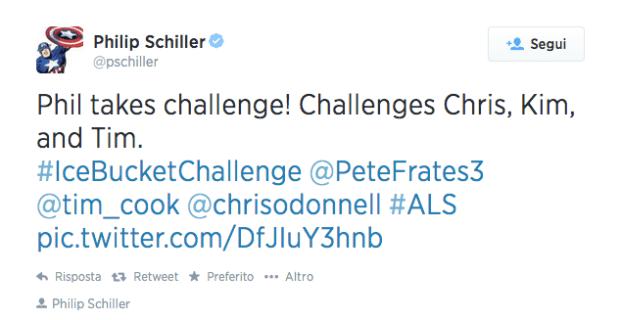 appleshiller 620x320 Anche Phil Schiller per sensibilizzare l'opinione pubblica sulla sclerosi laterale amiotrofica