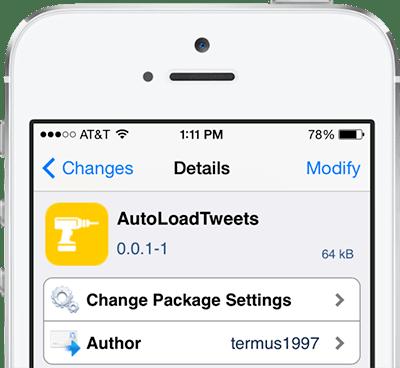 autoloadtweets cydia tweak AutoLoadTweets il Tweak di Cydia per aggiornare automaticamente lo stream di Twitter in tempo reale
