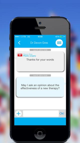 doctorchat3 Doctor Chat, unApplicazione creata e sviluppata da medici per i medici