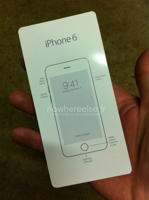 iphone6guida 620x830 [Rumors] Unimmagine che ritrae la guida utente dell'iPhone 6, svelando la data e l'ora di presentazione del nuovo iDevice