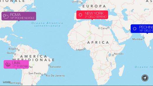 sunnyapp Sunny, unApp che permette di controllare le condizioni meteo con estrema semplicità