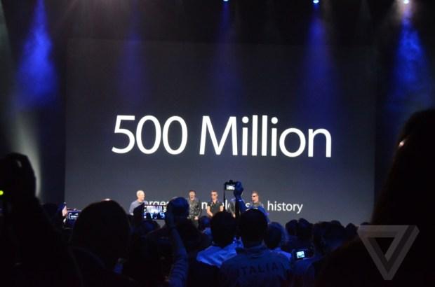 AppleEvent 1107 620x410 Apple e gli U2 regalano il nuovo album Songs of Innocence a oltre 500 milioni di utenti iTunes in tutto il mondo