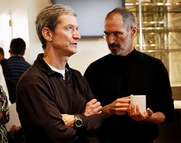 Tim Cook Steve Jobs 620x491 [Video] Tim Cook in un intervista, parla di Steve Jobs, del settore TV e dell'acquisizione di Beats