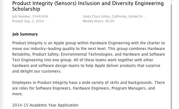 apple1 Apple promuove una nuova borsa di studio per gli studenti universitari